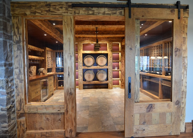 Wine Cellars Services Design Manufacture Amp Install Cabinetry Amp Millwork Kitchener Waterloo